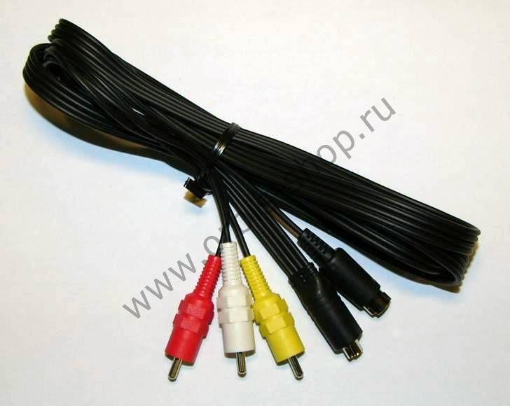 A/V+s-video кабель для видеокамеры Panasonic