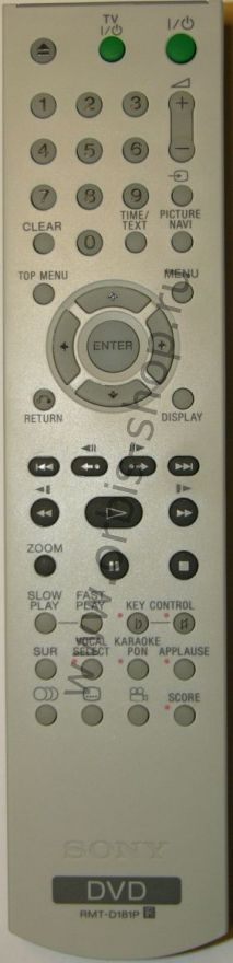 Пульт Sony RMT-D181P