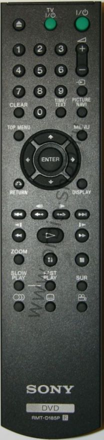 Пульт Sony RMT-D185P